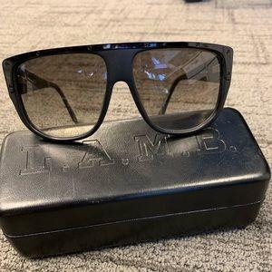 L.A.M.B Full Rim Rectangle Sunglasses